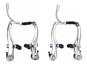 Тормоза велосипеда V-brake Artek AR-T 210 серебро