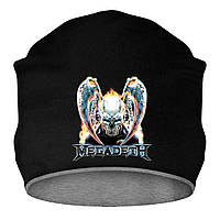 Шапка - Megadeth skull, отличный подарок купить со скидкой, недорого