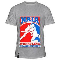 Мужская футболка - Wrestling championships, отличный подарок купить со скидкой, недорого