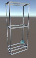 Комплект профилей и фурнитуры для сборки выставочной мебели. Модель-17