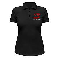 Женская футболка Поло - Senna, отличный подарок купить со скидкой, недорого