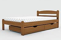 """Двухспальная  кровать """"Вега""""  массив дерева"""