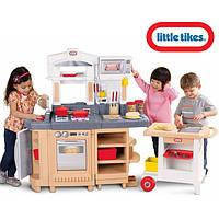 Дитяча кухня з грилем та візком Little Tikes 484230