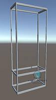 Конструктор для сборки витрины из алюминиевого профиля. Модель-19