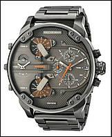 Мужские часы на металлическом ремешке Dz Brave (Дизель Брейв), копия