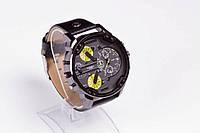 Diesel мужские стильные  часы  с желтыми циферблатами