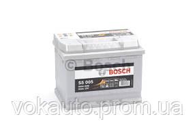 Аккумулятор Bosch S5 Silver Plus 12V 63Ah 610A [-/+] 242x175x190