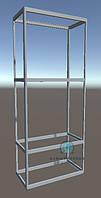 Комплект фурнитуры и алюминиевых профилей для сборки выставочной мебели. Модель-20