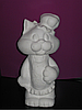 Гіпсова фігурка для розмальовки. Гипсовая фигурка для раскраски. Кіт кухар