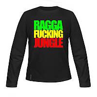 Лонгслив детский - Ragga Fucking Jungle, отличный подарок купить со скидкой, недорого