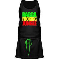 Платье - Ragga Fucking Jungle, отличный подарок купить со скидкой, недорого