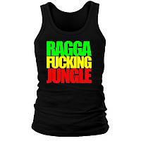 Майка мужская (хлопок) - Ragga Fucking Jungle, отличный подарок купить со скидкой, недорого