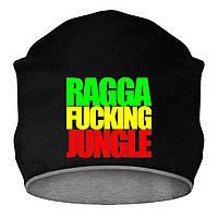 Шапка - Ragga Fucking Jungle, отличный подарок купить со скидкой, недорого