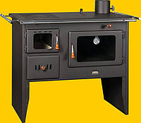 Печь-кухня c водяным контуром на дровах Prity  W12 РМ