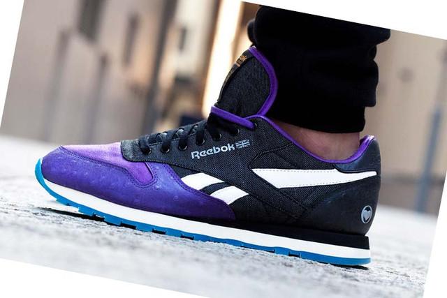 Синие с черным мужские кросы Reebok