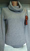 Женский свитер с высоким горлом 44/46 размера