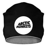 Шапка - Arctic Monkeys Logo, отличный подарок купить со скидкой, недорого