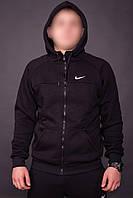 Спортивный костюм Nike черный топ реплика