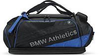 Спортивная сумка BMW Athletics Performance Sports Bag, Black/Royal Blue, артикул 80222361132