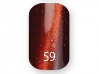 """Гель-лак """"Trendy nails""""  Котяче око №59 (8 мл)"""
