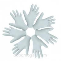 Перчатки смотровые латексные нестерильные, с высокой степенью защиты, неприпудренные