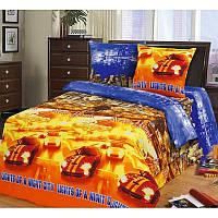 """Комплект постельного белья """"Огни большого города"""", в кроватку"""