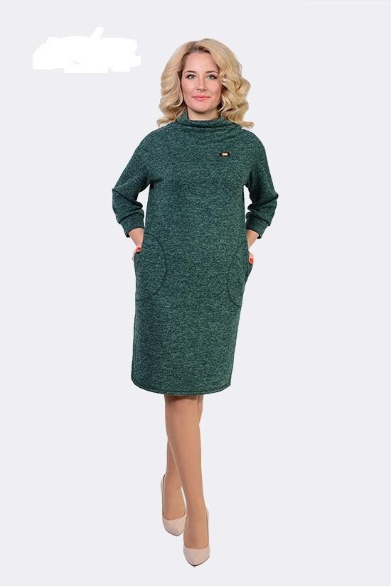 Женское ангорове платье Синтия