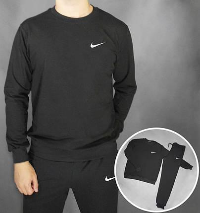 Спортивный костюм Nike черный топ реплика, фото 2