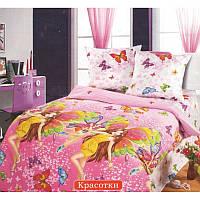 """Комплект постельного белья """"Красотки"""", в кроватку"""