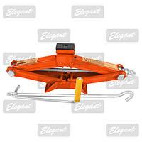 Домкрат-ромб 1,5 т  ELEGANT 100 825 / резиновая подушка / ручка/104- 385мм