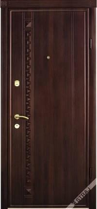 Входная дверь Страж standart 49 орех шоколад, фото 2
