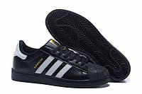 "Кроссовки Adidas Superstar ""White/Black/Gold"""