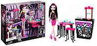 Набор Monster High Beast Bites Cafe Draculaura Doll & Playset.