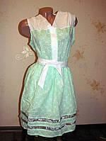 Легкое молодежное платье на 48 размер