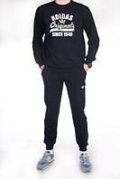 Спортивный костюм Adidas Originals черный топ реплика