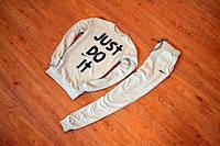 Спортивный костюм Nike Grey топ реплика