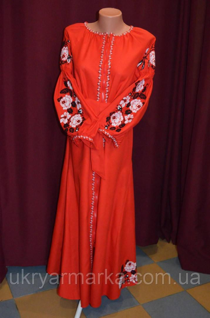 """В стилі бохо - сукня з вишивкою """"Пенелопа"""""""