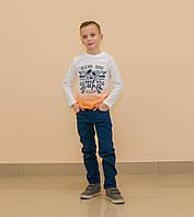 Реглан белый (от 2 до 9 лет)
