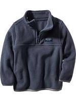 Детские флисовые свитерки Old Navy Fleece Half-Zip Pullover