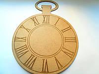 """Заготовки для часов, циферблат """"Часы пенсне"""""""