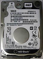 """Western Digital Black 500GB 7200rpm 32MB SATA III 2.5"""" WD5000LPLX"""