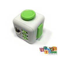 Фиджет Куб Fidget-Cube (антистресс) белый/зеленый