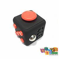 Фиджет Куб Fidget-Cube (антистресс) черный/красный