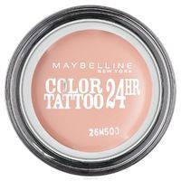 Maybelline EyeStudio Color Tattoo 24H гелевые крем-тени оттенок 91