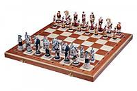 Деревянные шахматы «Спартанцы» 59 см