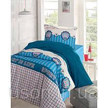 Комплект постельного белья ранфорс Storway полуторное champion