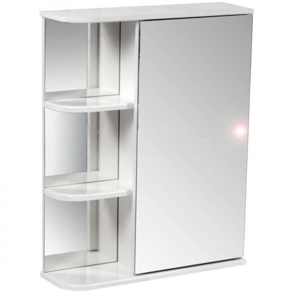Зеркальные шкафчики в ванную комнату
