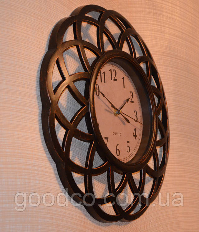Настенные часы имитация бронзовых