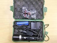 Яркий тактический фонарик Police BL-T8628 + крепление на велосипед