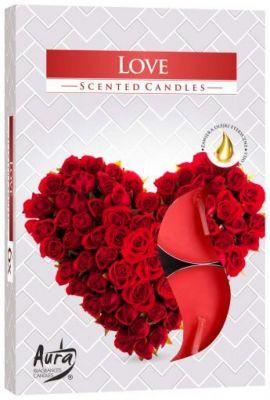 Ароматические  свечи-таблетки Любовь  Bispol
